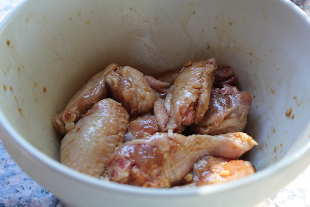 how to cook pre marinated chicken wings